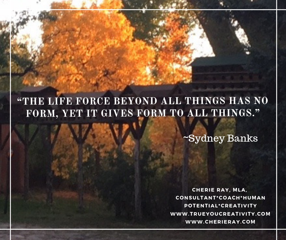"""""""The life force beyond all things has no form…"""