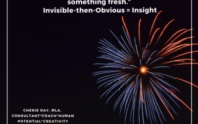 Insight is the effortless, natural ability to see something fresh…